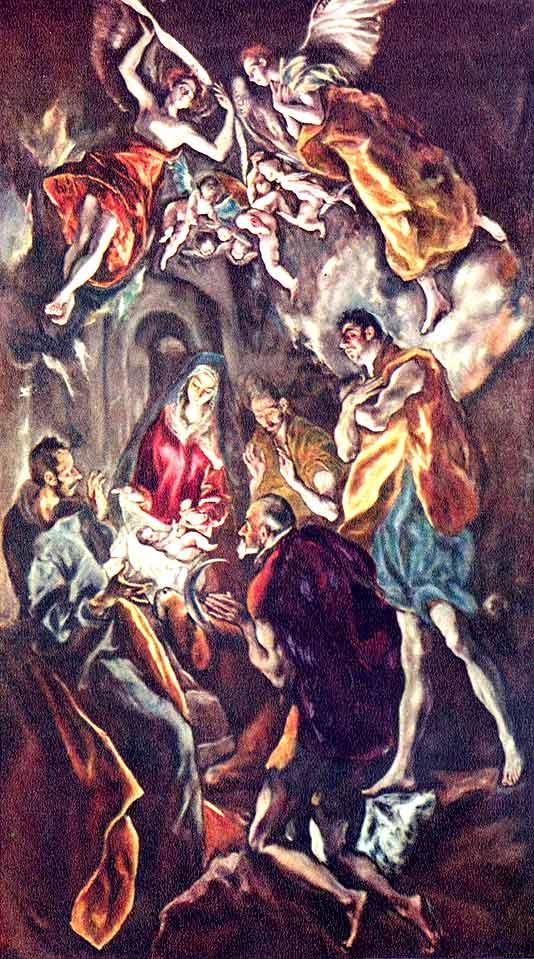 Рождество христово в красках